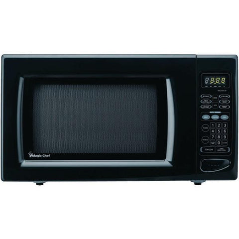 Magic Chef MCD1611B 1.6 Cubic-ft, 1,100-Watt Microwave with Digital Touch (Black) - Peazz.com