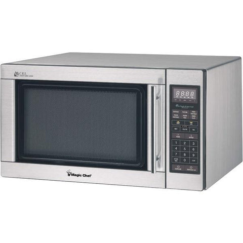Magic Chef MCD1611ST 1.6 Cubic-ft 1,100-Watt Microwave with Digital Touch (Stainless Steel) - Peazz.com