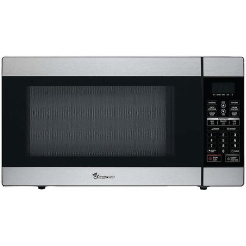 Magic Chef MCD1811ST 1.8 Cubic-ft, 1,100-Watt Stainless Steel Microwave with Digital Touch - Peazz.com