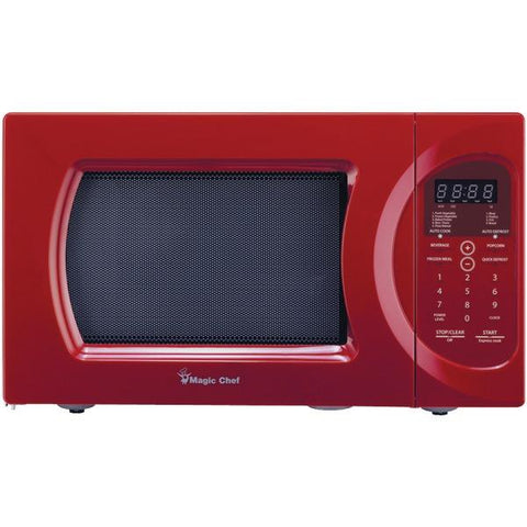 Magic Chef MCD992R .9 Cubic-ft, 900-Watt Microwave with Digital Touch - Peazz.com