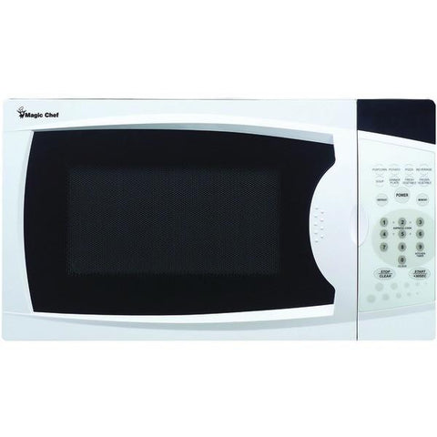 Magic Chef MCM770W .7 Cubic-ft, 700-Watt Microwave with Digital Touch (White) - Peazz.com