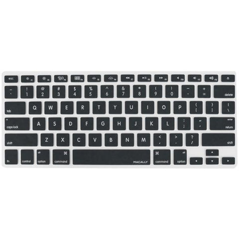 Macally Peripherals KBGUARDB MacBook Pro/Air Keyboard Protective Cover (Black) - Peazz.com