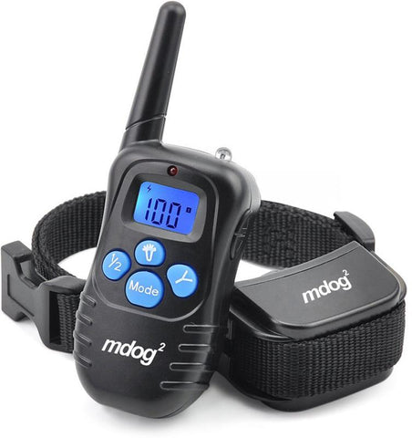 MDOG2 MD2-998DRB Rechargeable and Rainproof 330 Yard Remote Training Collar with Beep, Vibration, and Shock - Peazz.com - 1