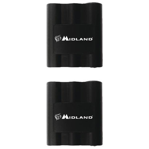 Midland AVP7 2-Way Radio Accessory (Rechargeable Batteries for LXT210, LXT310, LXT410 & GXT Series 2-Way Radios) - Peazz.com