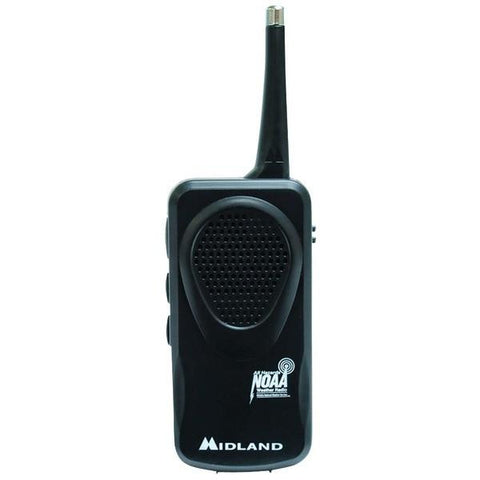 Midland HH50B Portable Pocket Emergency Weather Alert Radio - Peazz.com