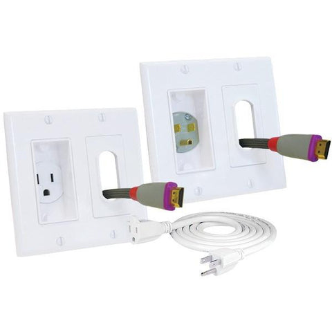MIDLITE 2A46-W-3 Décor In-Wall Power Solution Kit - Peazz.com