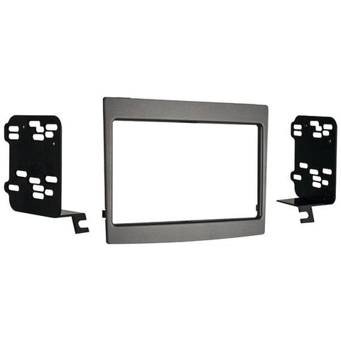 Metra 95-3528G 2004–2006 Pontiac GTO Double-DIN Installation Kit, Gray - Peazz.com