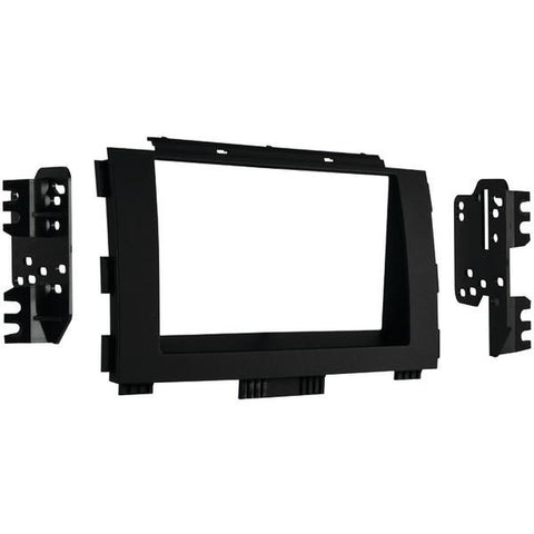 Metra 95-7365B 2015 & Up Kia Sedona Double-DIN Installation Kit, Matte Black - Peazz.com