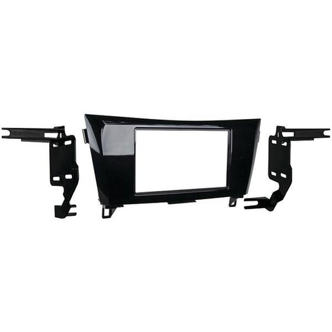 Metra 95-7622HG 2014 & Up Nissan Rogue Double-DIN Installation Kit, High Gloss Metallic Black - Peazz.com