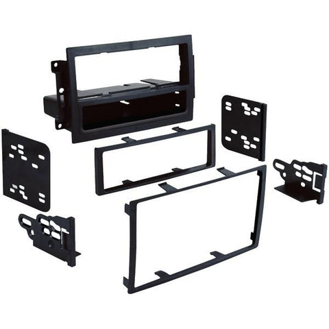 Metra 99-6510 2004–2011 Dodge/Jeep/Chrysler Single- or Double-DIN Installation Multi Kit For Vehicles with Factory Navigation - Peazz.com