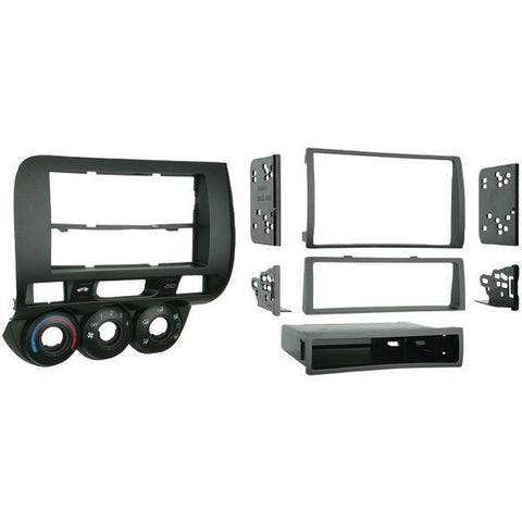 Metra 99-7872 2007–2008 Honda Fit Single- or Double-DIN Installation Kit - Peazz.com