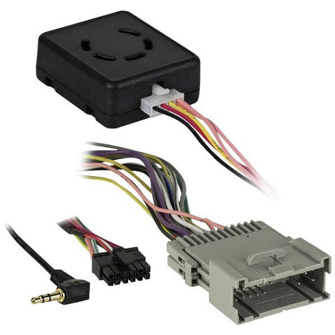 Axxess BX-GM1 BASIX Retention Interface (For Select 2000–2013 GM Accessory with Chime/ASWC PNP) - Peazz.com