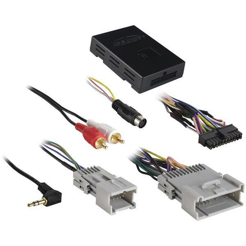 Axxess BX-GM4 BASIX Retention Interface (For Select 2000–2013 GM Class-2 Amp/No Amp) - Peazz.com