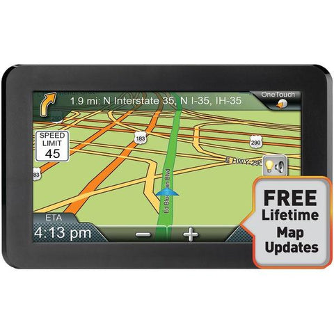 "Magellan RM9400SGLUC RoadMate 9400-LM 7"" GPS Device with Free Lifetime Maps - Peazz.com"