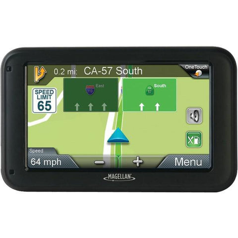 "Magellan RM2220SGLUC RoadMate 2220-LM 4.3"" GPS Device with Free Lifetime Map Updates - Peazz.com"