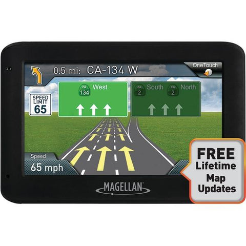 "Magellan RM2525SGLUC RoadMate 2525-LM 4.3"" GPS Device with Free Lifetime Maps - Peazz.com"
