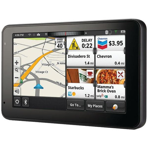 "Magellan RM5295RGLUC SmartGPS 5295T-LM 5"" GPS Device with Bluetooth & Lifetime Maps & Traffic Updates, Refurbished - Peazz.com"