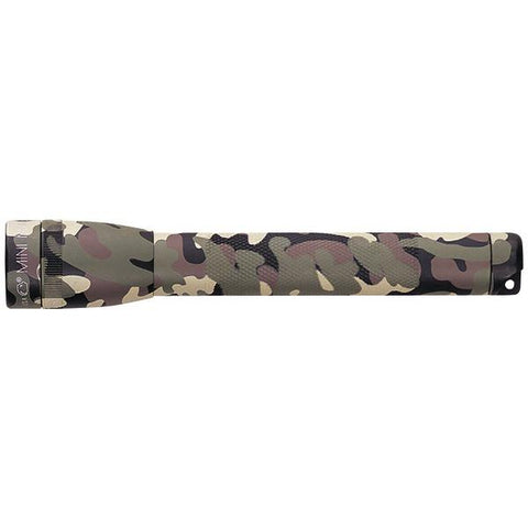 MAGLITE SM2A02H 14-Lumen Mini Flashlight with Holster (Camo) - Peazz.com