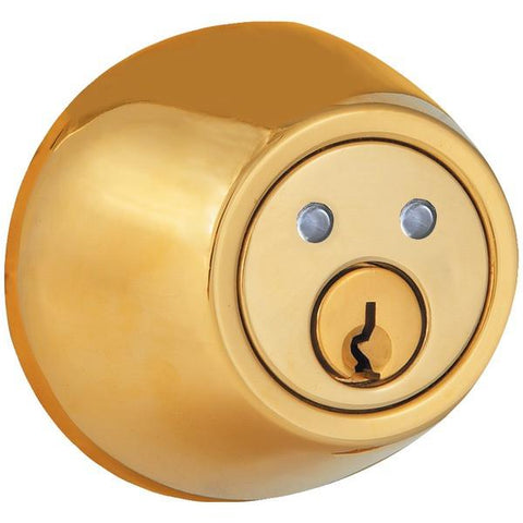 Morning Industry Inc. RF-01P Remote Control Electronic Dead Bolt (Polished Brass) - Peazz.com