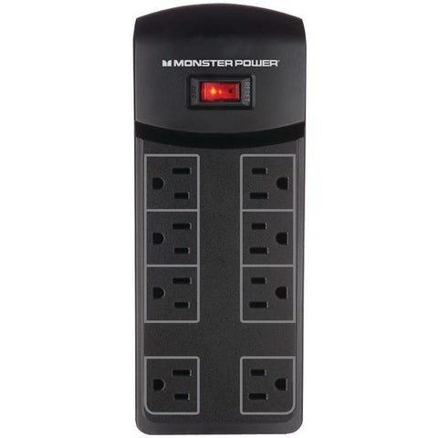 Monster Power 121821 8-Outlet Essentials 800 Surge Protector - Peazz.com