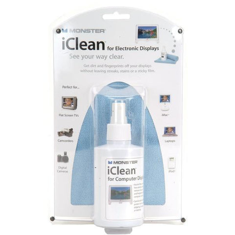Monster Power AI ICLN-L iClean Family-Size Screen Cleaner - Peazz.com