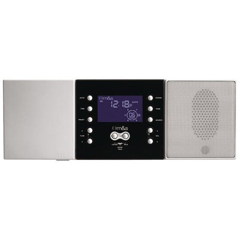 M&S Systems DMC3-4 3- or 4-Wire Retrofit Music/Communication System Master Unit (White) - Peazz.com