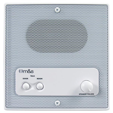 "M&S Systems DMC3R 5"" Indoor Intercom Speaker - Peazz.com"