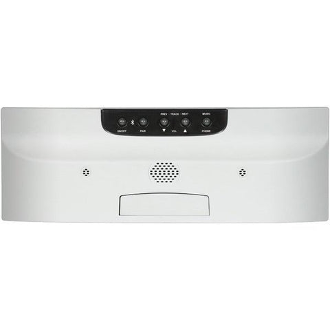 M&S Systems DMCBT Music/Intercom System with Bluetooth Player (White) - Peazz.com