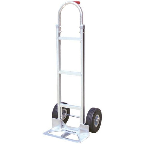 Monster Trucks MT10008 Aluminum Hand Truck with Foam Rubber Tires (Stick Handle) - Peazz.com