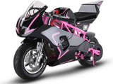 MotoTec MT-Gas-GP-Pink Gas Pocket Bike GP 33cc 2-stroke Pink
