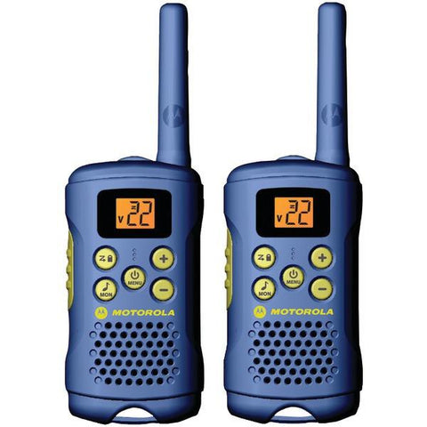 Motorola Talkabout MG160A 16-Mile Talkabout 2-Way Radio (Light Blue) - Peazz.com