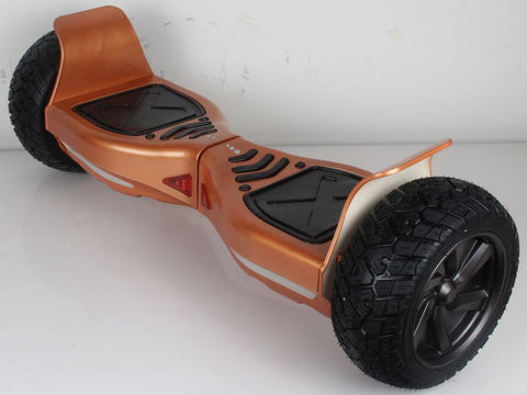 MotoTec MT-SBS-Offroad-85-Orange Hoverboard Off Road 36v 8.5inch Orange