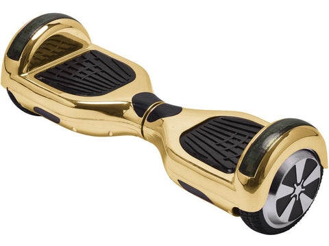 MotoTec MT-SBS-GoldChrome Hoverboard 36v 6.5inch Gold Chrome (Bluetooth)