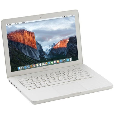 "Apple MC207/C2D/4/250 Refurbished 13"" MacBook - Peazz.com"