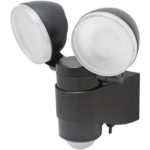 MAXSA Innovations 43218 Battery-Powered Motion-Activated Dual-Head LED Security Spotlight - Peazz.com