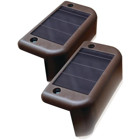 MAXSA Innovations 47332 Solar-Powered Deck Lights, 4 pk - Peazz.com