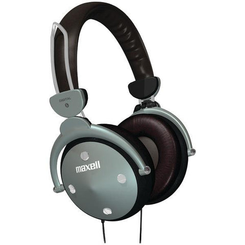 Maxell 190562 Full-Cup Folding Digital Headphones - Peazz.com