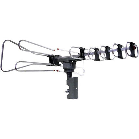 Naxa NAA-350 Amplified Outdoor TV Antenna with Remote Directional Control - Peazz.com