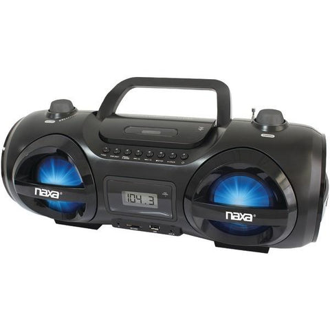 Naxa NPB-258 CD/MP3 Party Boom Box & USB/SD Card Player - Peazz.com