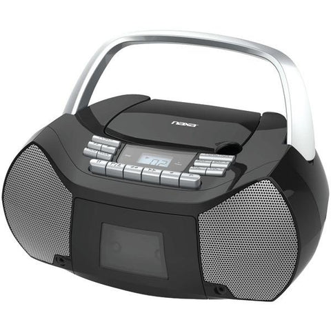 Naxa NPB-268 Portable CD/Cassette Boom Box - Peazz.com