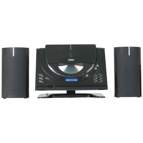 Naxa NSM433 Digital CD Micro System with AM/FM Stereo Radio - Peazz.com