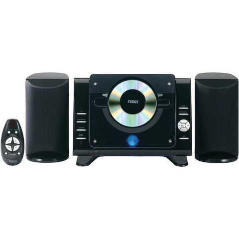 Naxa NS-435 Digital CD/MP3 Micro System with AM/FM Radio - Peazz.com
