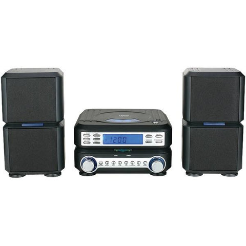 Naxa NSM438 Digital CD Micro System with AM/FM Radio - Peazz.com