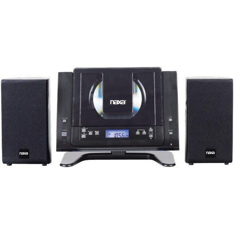 Naxa NSM437 Digital CD/MP3 Micro System with AM/FM Radio - Peazz.com