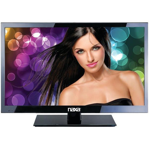 "Naxa NT-2208 21.5"" Slim LED HDTV & Media Player - Peazz.com"