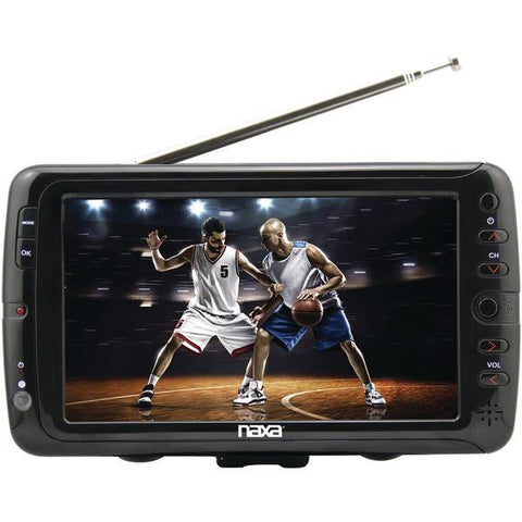 "Naxa NT-70 7"" Portable TV & Digital Multimedia Player - Peazz.com"
