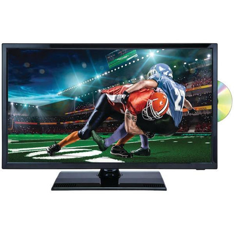 "Naxa NTD-2255 22"" 1080p LED TV/DVD/Media Player Combination with Car Package - Peazz.com"