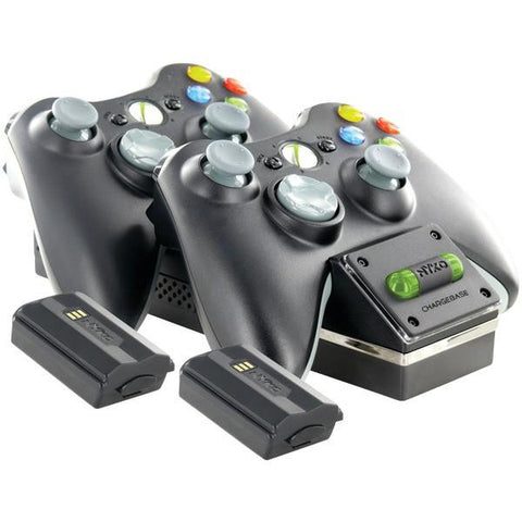 Nyko 86074 Xbox 360 Charge Base 360S - Peazz.com