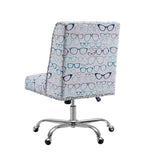 Linon OC047GLAS1U Dobby Glasses Office Chair