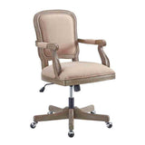 Linon OC048BGE01U Maybell Office Chair